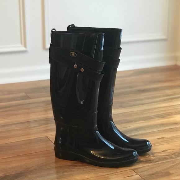 Coach Talia Tall Rain Boots